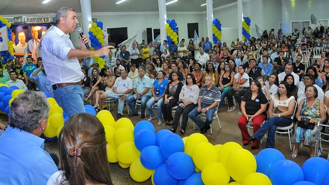 """""""Caiado usa o poder que tem para atrapalhar Goiás"""", diz Zé Eliton em Formosa"""
