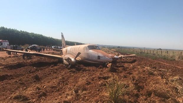 Candidato ao governo de Goiás, Daniel Vilela sofre acidente aéreo em Itapaci