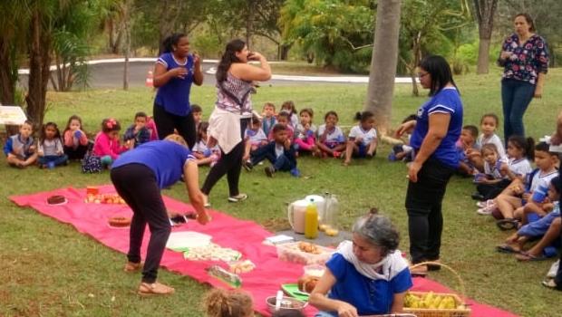 Secima realiza atividades de educação ambiental na Primavera da Ciência