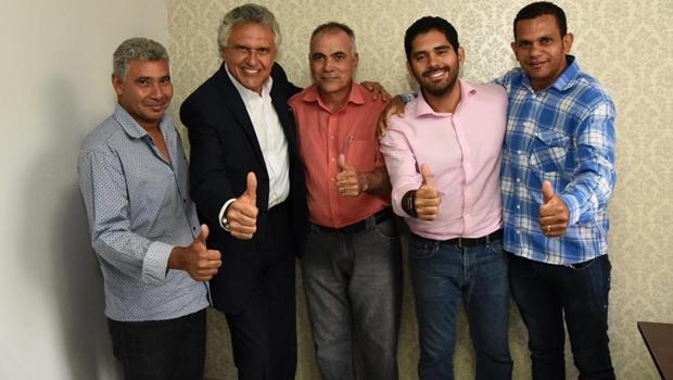 Mais um prefeito do MDB declara apoio a Caiado