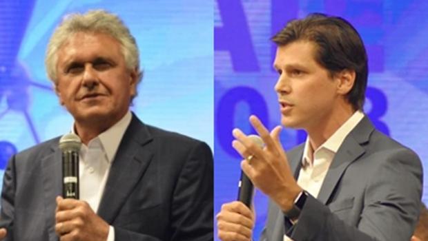 Caiado não confirma presença e Daniel cancela participação em novo debate da TBC