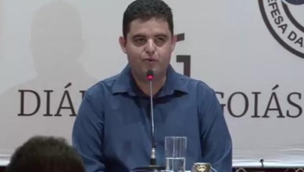 Weslei Garcia diz que Caiado não tem moral para falar sobre corrupção