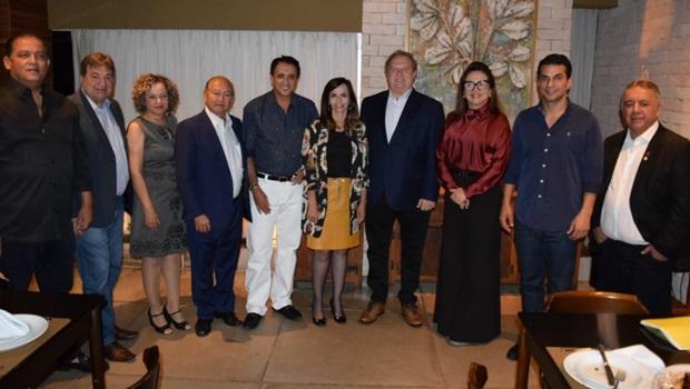 Carlesse se encontra com a bancada federal do Tocantins em Brasília