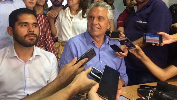 Caiado promete avanços imediatos em Goiás e desconversa sobre apoio a presidente