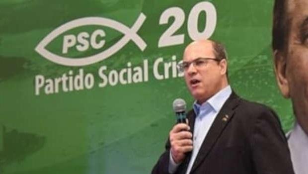 Wilson Witzel, do PSC, é eleito governador do Rio de Janeiro