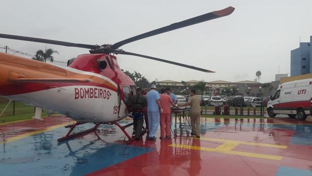 Atropelamento em Aparecida de Goiânia deixa uma mulher e duas crianças feridas