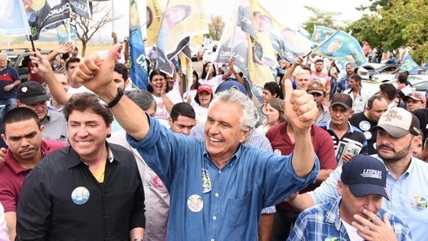 Na reta final da campanha, Caiado aposta no corpo a corpo com eleitores