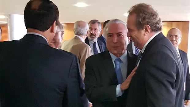 Mauro Carlesse visita Brasília em busca de benefícios para Tocantins