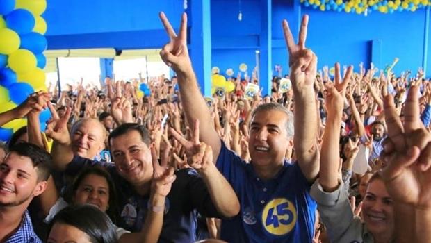 """Em Águas Lindas, Zé Eliton diz que terá """"votação expressiva já no 1º turno"""""""