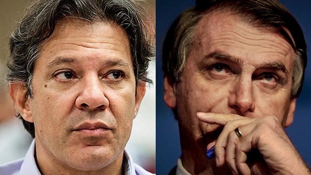 Confira agenda de Bolsonaro e Haddad na reta final da campanha