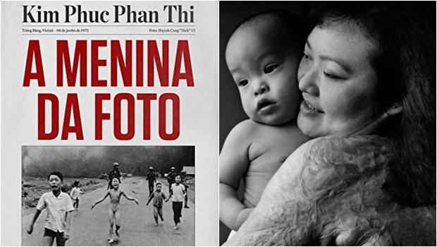 Menina que foi queimada por napalm no Vietnã conta sua história em livro