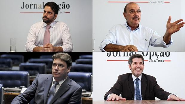 Quatro políticos goianos que são cotados para o próximo ministério