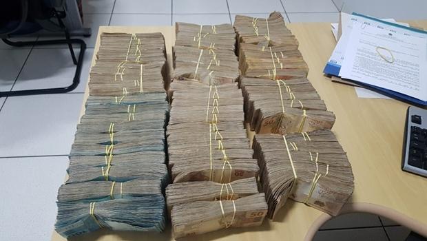 Irmão do deputado Olyntho Neto é preso com R$ 500 mil reais