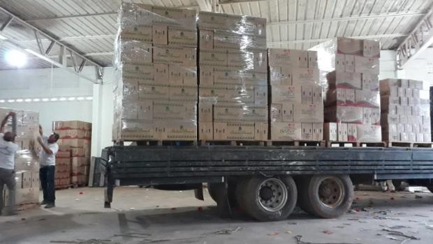 Polícia apreende 62 toneladas de produtos cosméticos irregulares em Aparecida de Goiânia