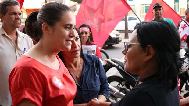 Kátia Maria foca no voto de indecisos na tentativa de garantir 2º turno em Goiás