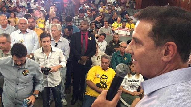 Vanderlan Cardoso diz que, em Goiás, meta para Bolsonaro é ultrapassar 70% de eleitores