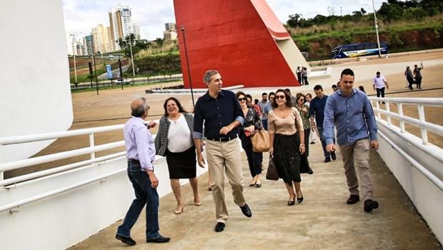 Centro Cultural Oscar Niemeyer será reaberto em dezembro, garante José Eliton