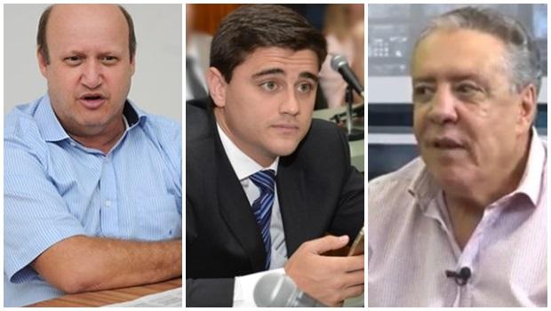 Célio Silveira, Tião Caroço e Diego Sorgatto devem deixar o PSDB. O primeiro caminha para o PSL
