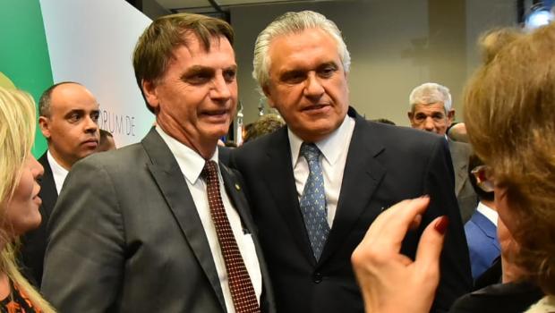 Caiado quer apoio do DEM ao presidente Bolsonaro