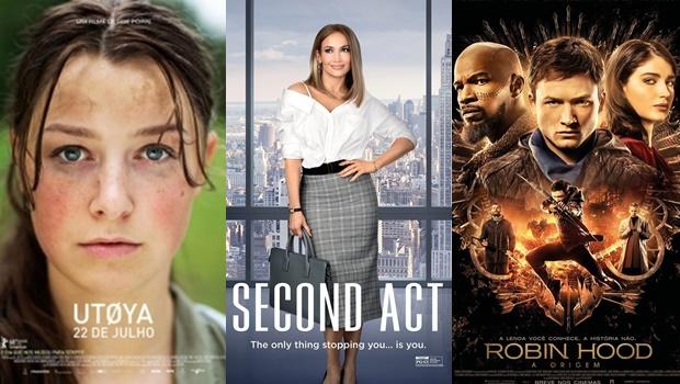 Até o fim do mês, cinemas estreiam oito filmes em Goiânia