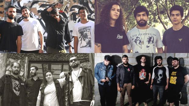 Músicas autorais marcam shows de bandas na Monkey