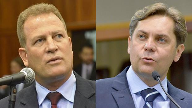 Major Araújo quer ser líder do governo Caiado. Mas Bruno Peixoto saiu na frente