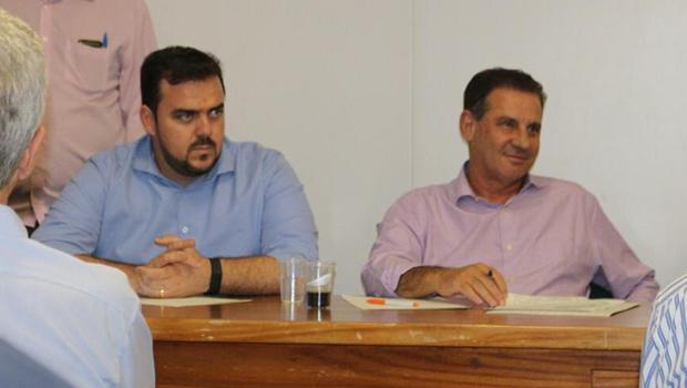 Gustavo Mendanha e Vanderlan Cardoso se reúnem para reforçar aliança com Aciag