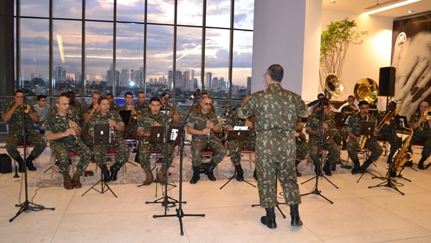 Banda Marcial do Exército se apresenta nesta quinta-feira (6/12)