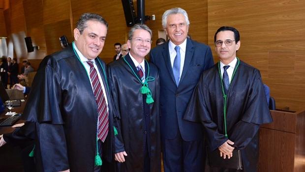 """""""Relação com o TCE será respeitosa"""", garante Caiado"""