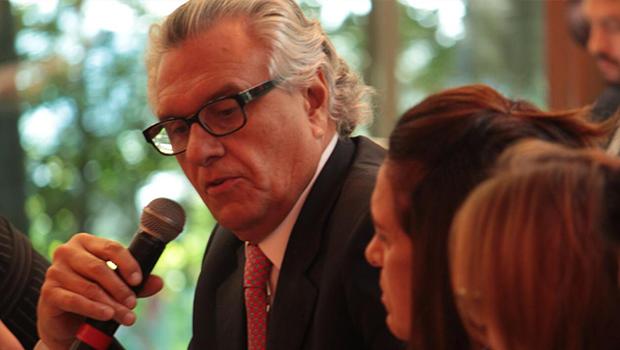 Em São Paulo, Caiado se reúne com governadores e discute contas públicas