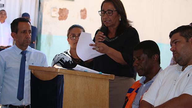 Prefeita de Novo Gama consegue recursos para fechar erosão aberta há mais de 25 anos