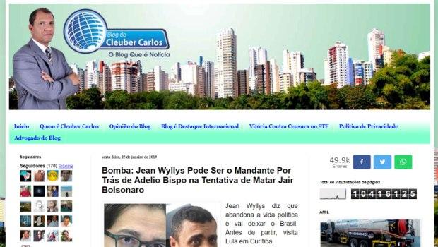 Notícias falsas sobre Jean Wyllys ligam deputado a enriquecimento ilícito e facada em Bolsonaro