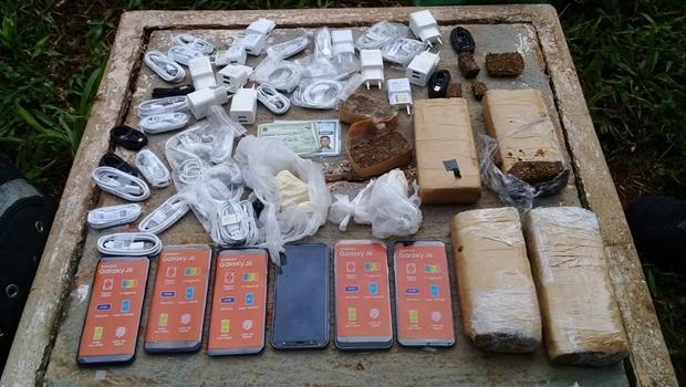 Vigilante penitenciário é preso por repassar drogas e celulares a detentos da CPP