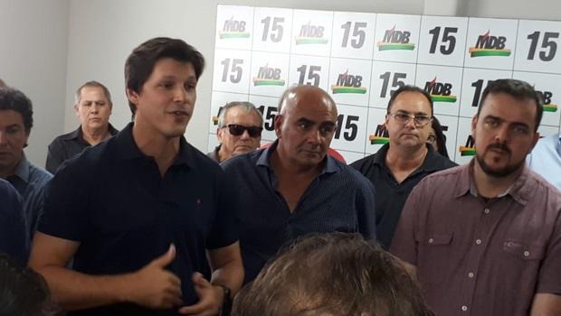 Daniel Vilela é empossado presidente estadual do MDB para biênio 2019-2020
