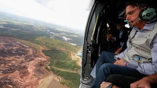 Agilidade na reação de Bolsonaro à tragédia em Minas Gerais indica que ele passou a dar mais ouvidos à sua assessoria