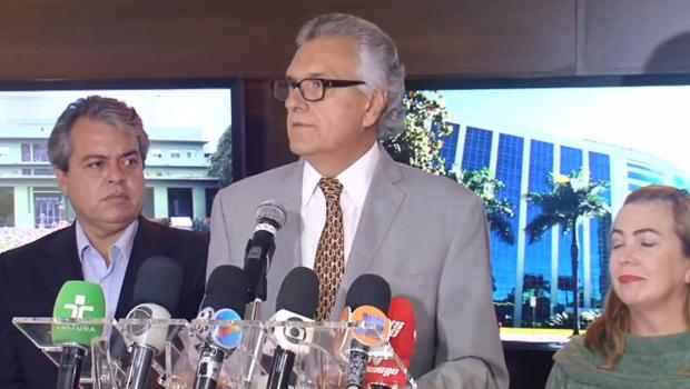 """Em meio a crise no funcionalismo público, Caiado anuncia pacote de """"bondades"""""""