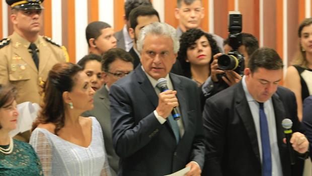 Ronaldo Caiado é oficialmente o novo governador de Goiás