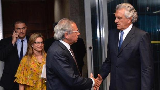 Em reunião com Guedes, Caiado cobra celeridade em Plano de Recuperação Fiscal