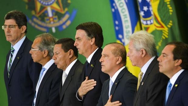 """""""Nós não podemos errar"""", diz Bolsonaro em posse dos novos dirigentes de bancos estatais"""