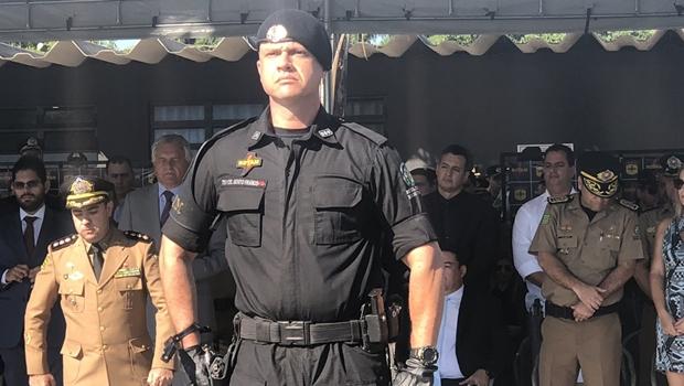 Em posse, novo comandante da Rotam destaca troca de armamento