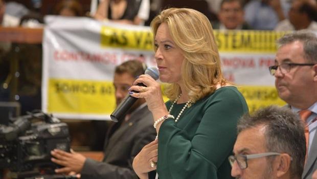Lêda Borges apoia candidato apoiado por Caiado em Novo Gama