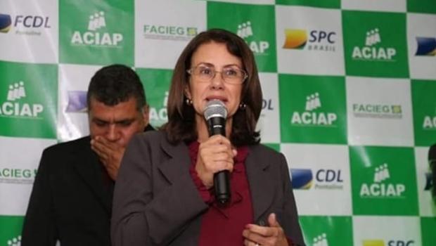 Vereadora Joana D'arc de Godoi pode concorrer para prefeita de Pontalina em 2020