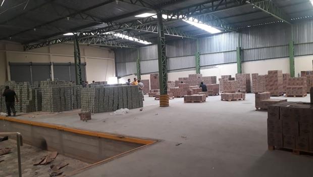 Decar e Choque desarticulam grupo criminoso e recuperam 55 toneladas mercadorias roubadas