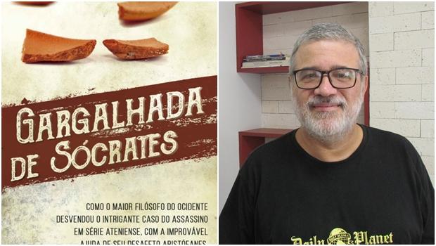 """Escritor Nelson Moraes lança """"A Gargalhada de Sócrates"""""""