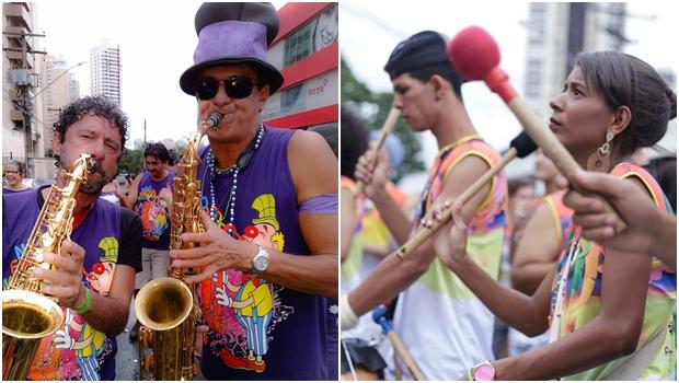 Blocos do Cerrado e Não Encha Meu Sax animam em pré-carnaval de Goiânia