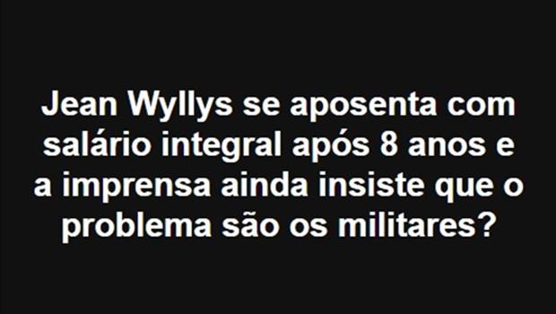 Em nova mentira, inventaram que Jean Wyllys vai receber aposentadoria da Câmara