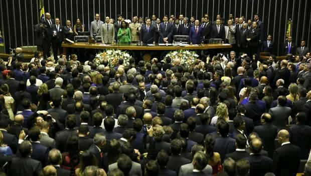 Partidos formalizam três blocos parlamentares na Câmara dos Deputados