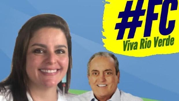 Flávia Cunha diz que não será candidata em Rio Verde e frisa que apoia reeleição de Paulo do Vale