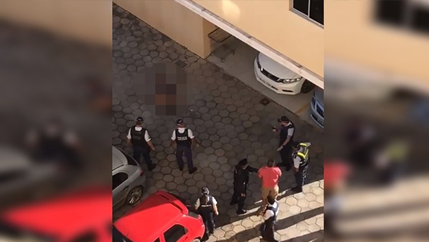 PM de Goiás morre após pular de prédio no DF, efetuar disparos e agredir a mulher