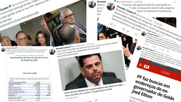 O que o Twitter revela dos 90 dias de Governo Caiado